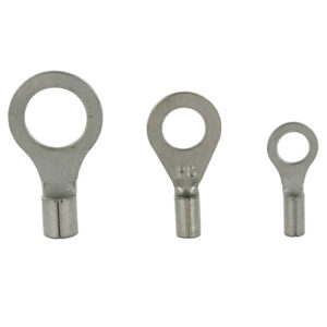 NON-INSULATED WIRE TERMINALS 2 GAUGE