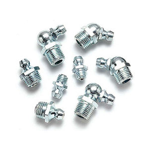 METRIC GREASE FITTINGS PLATED
