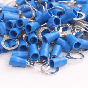 WIRE TERMINALS 16-14 GAUGE NYLON (BLUE)
