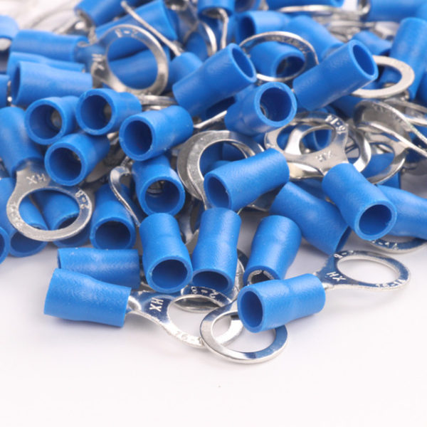 WIRE TERMINALS 16-14 GAUGE NYLON (BLUE)