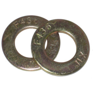 FLAT WASHERS SAE (GRADE 8) PLATED