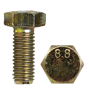 METRIC HEX HEAD CAP SCREWS 8.8 COURSE AND FINE THREAD