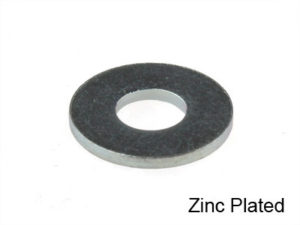 GRADE 5 SAE PLATED FLAT WASHERS