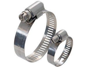 ALL STAINLESS STEEL HOSE CLAMPS